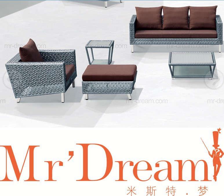 MR DREAM Rattan tea table modern outdoor furniture CF50
