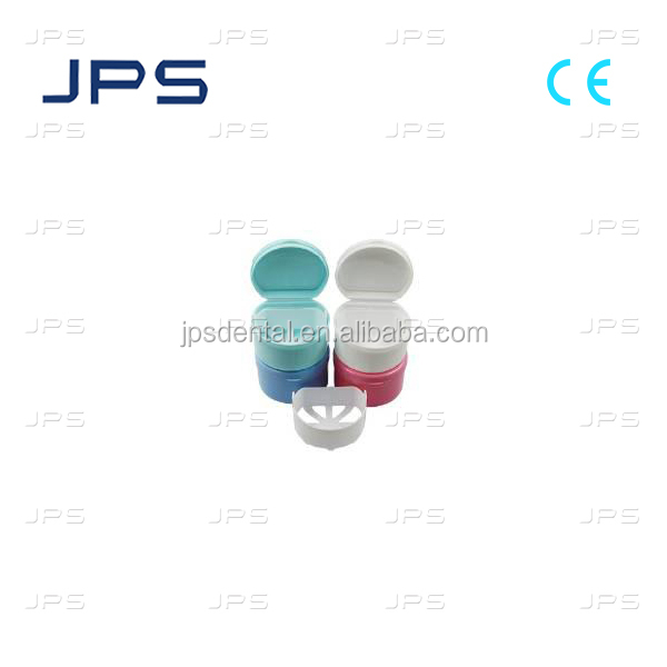 Plastic retainer Dental box JPS 0888010 Denture Box