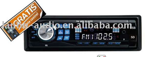 2011 NEW Detachable car mp3 radio player with USB/SD/MMC