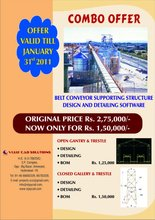 Combo Offer Belt Conveyor Design & Detailing Software