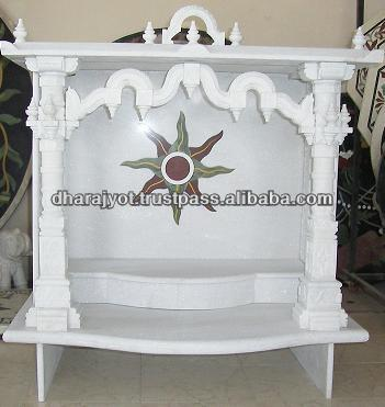 White Marble Home Decoration Mandir And Temple - Buy Marble Temple ...