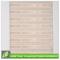 Ready made Custom Transparent window blinds shutters roller shade
