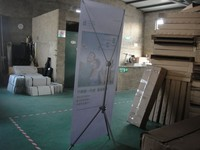 Easy Assembling Advertising Display X Banner Stand 60x160cm 80x180cm 60x200cm 80x200cm