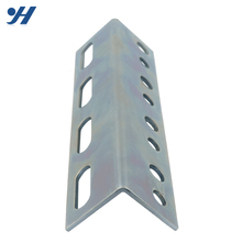 Cold Rolled Galvanized Perforated Powder Coated Angle Iron Specification