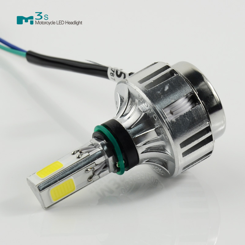 all in one 32w 3000lm M3s led motorcycle headlight hi/lo beam lights replace xenon