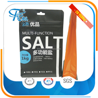 Custom Design flat bottom packaging bags and food plastic packing pouch