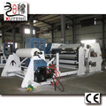 RT-F Hot melt cleaning tape coating machine with on-line slitting