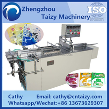Different size of candy bread bags packing machine hot sale