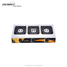 Hot plate 3 burner factory direct sell cooking range BW-3008