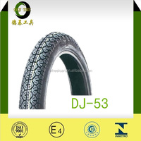 Motorcycle Tire with the soncap certificate colored