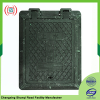 Cover plate composite manhole cover cable conduit water meter box