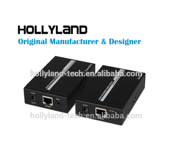 Hollyland 50M Single Cable HDMI IR Extender Sender and Receiver
