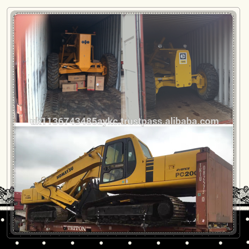 International Certificated Caterpillar Used Excavator E200B at low price, All Series Cat Hydraulic Digger for hot sale