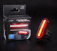 AQY-096 Super Light MTB Folding Cycling Bicycle USB Rechargeable Alarm Light Bike Rear Light