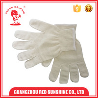 10G Popular Construction Cotton Lampshades White Cotton Hand Gloves