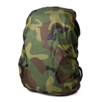 Outdoor sport waterproof backpack rain cover 70L camouflage backpack rain cover