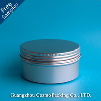 120ml (4 oz) Aluminum Middle tin container, metal cake tin