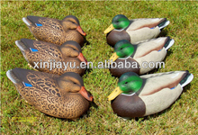 Collapsible duck decoy for wild hunting / lifelike XPE foam duck decoy/ inflatable foam duck