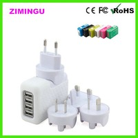 4 Port USB HUB AC Adapter US / EU / UK / AU Plug Wall Charger for iPhone 6 6S 6 Plus for iPad Mini 2 3 for Samsung Galaxy HTC