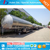 Steel petrol semi trailer tanks for Africa