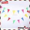 Outdoor Decoration Factory Direct Custom Size Plastic Bunting Flags