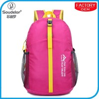 Many colors new products backpack folding portable