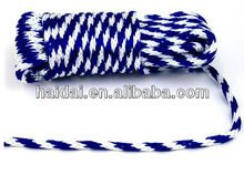 Higth quality solid braid 8mm polypropylene rope