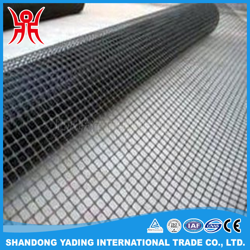 Fiberglass Reinforcement Geogrid For Road Construction Material