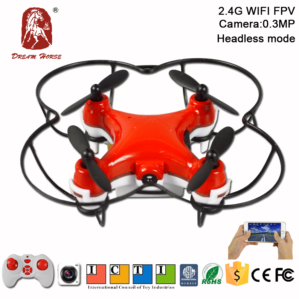 China toys mini nano drone nano fpv with 0.3MP camera cx10 dreamhorse wifi control quadcopter rc mini drone