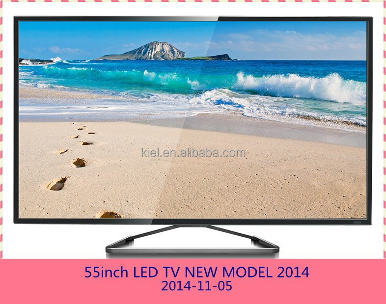attactive 55 inch led tv 4k panel slim case with AUO panel A grade+multi media+smart android