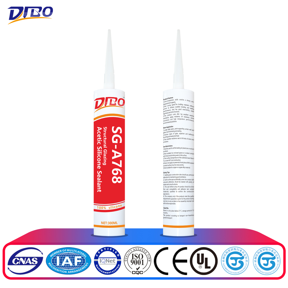 good sale anti-mildew structural silicone sealant for aquarium