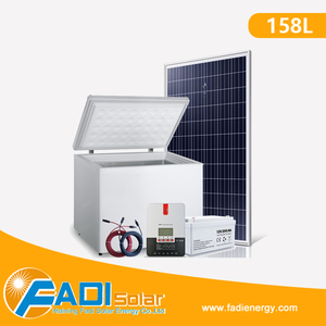 24V DC and 12V DC Solar Powered Solar Fridge, Deep Solar Freezer Refrigerators 158L
