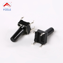 Factory direct sale the material better 30V PA66 tact switch