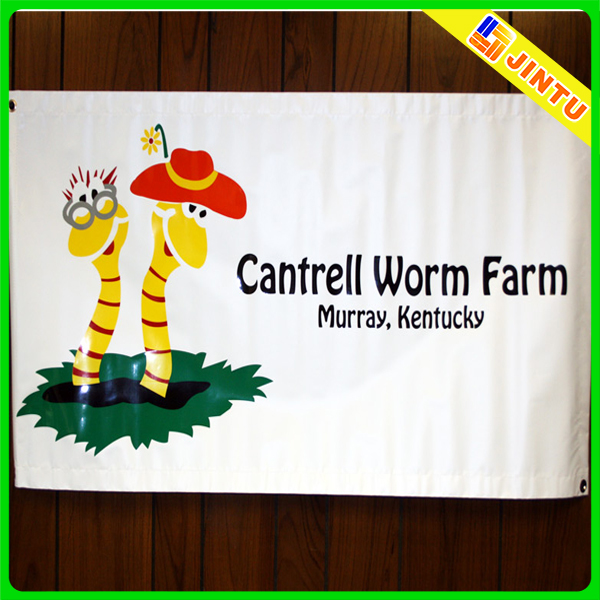 Kindergarten decorative animal picture mesh banner