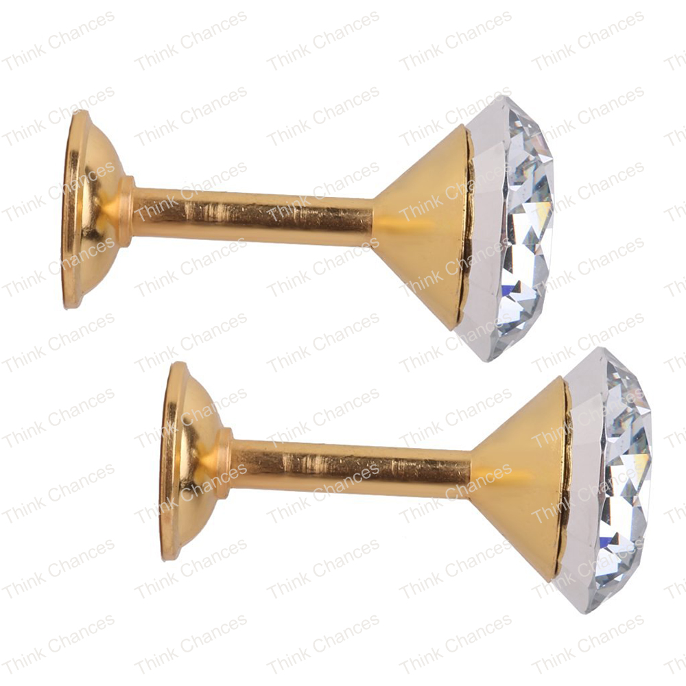 Faux Diamond Curtain Drapery Tiebacks Door Wall Tassel Hooks