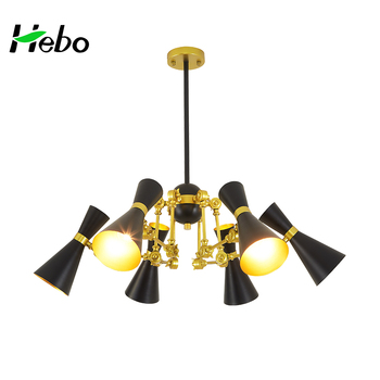 Wholesale black and gold luminaire chandelier lamp view black and wholesale black and gold luminaire chandelier lamp mozeypictures Image collections