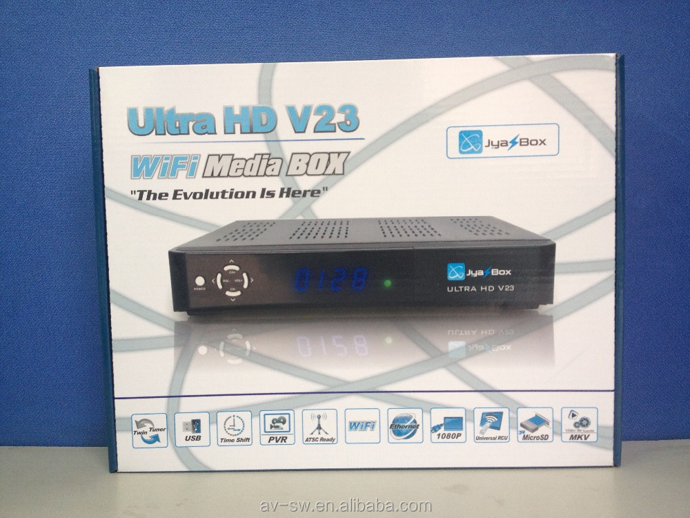new product in 2016 jyazbox ultra hd v23 with jb200 and wifi for USA Puerto Rico Canada