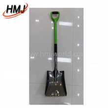 Construction hand tool steel square shovel