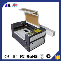 JK best mini co2 laser engraving cutting machine for bamboo wood paper