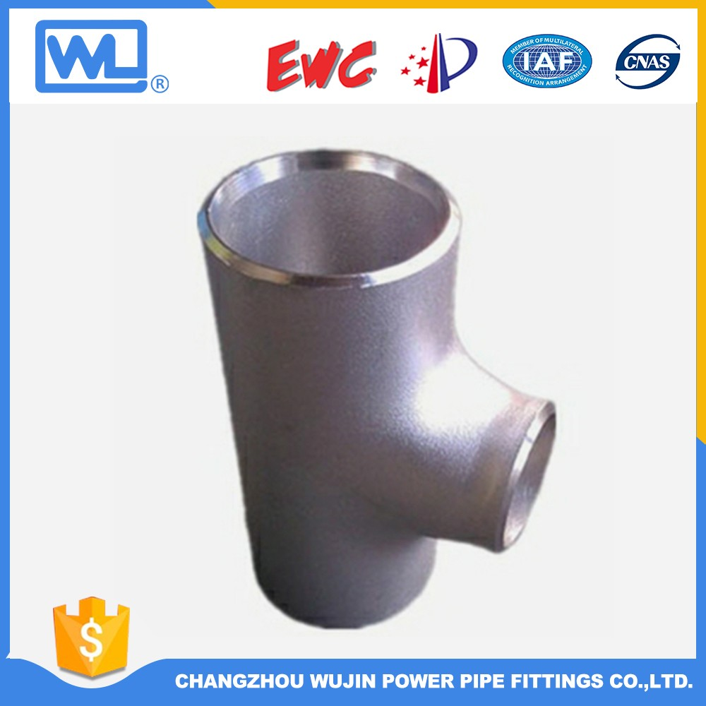 Butt Weld Pipe Fitting Y Type Reducing Tee