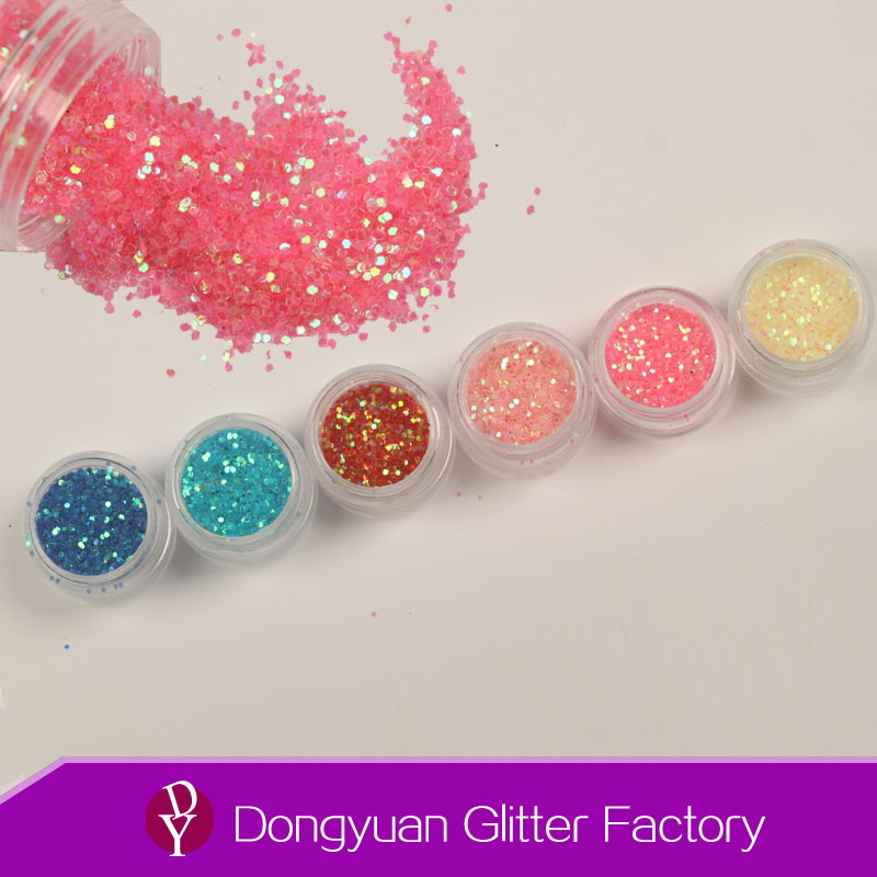 Hot Selling PET glitter powder / High-quality glitters for Glass,Arts&crafts