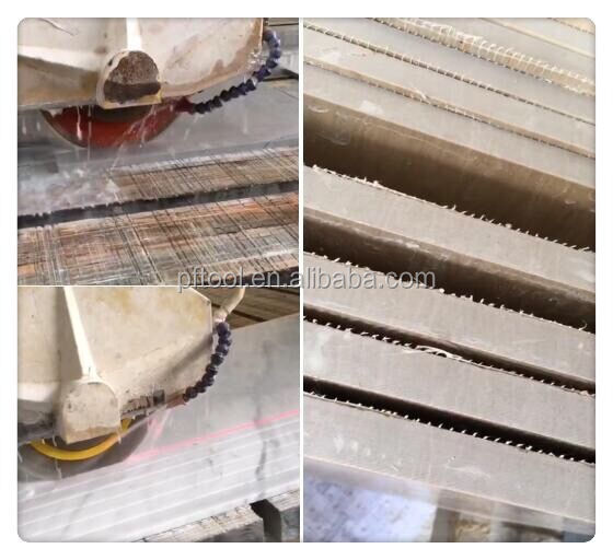 Whole sale 350mm 400mm Diamond Silent Marble Blade