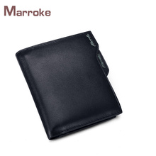 Marroke Latest Design Wholesale Genuine Leather Coin Cluth Men Purse