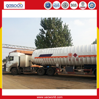 High Quality Semi Trailer Cryogenic Lorry Tanker/Liquid Gas Tanker