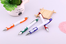 Marked striking effection nice school items professional factory supply test plastic ball pen