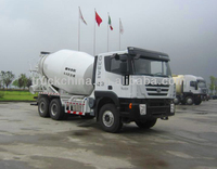 Iveco Hongyan Genlyon Concrete Mixer Industrial Blender Mixer Grinder Mixing Machine