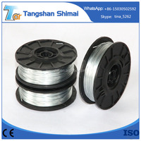 China high quality galvanized iron wire, unit weight of iron wire, thin iron wire