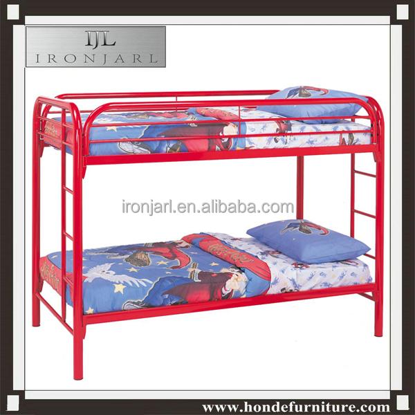 Queen Size Metal Bunk Bed For Bedrom Furniture Buy Queen