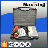 Auto jump starter multi-function jump starter mini portable car jump starter with dual-USB three LED light safety hammer
