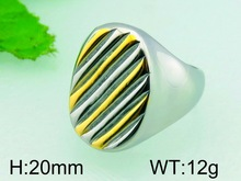 20mm China Factory Ring Settings Without Stones For Men Gold Plated Ring